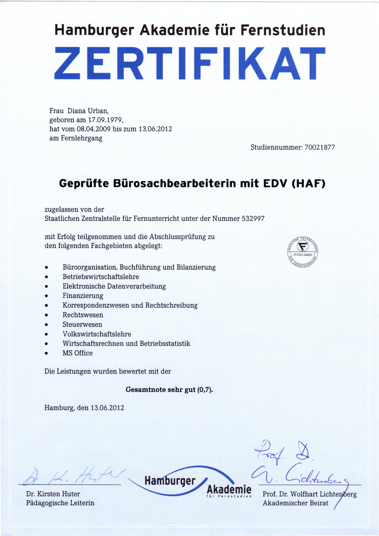 Geprüfte Bürosachbearbeiterin mit EDV_13.06.2012