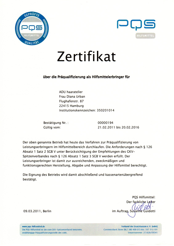 Präqualifizierung 21.02.2011