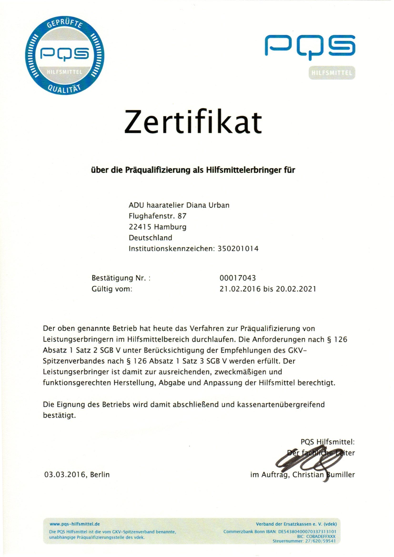 Präqualifizierung 21.02.2016